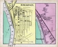 Stemton, Siegfried Bridge, Newport, Northampton County 1874